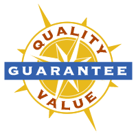 We Guarantee Quality and Value