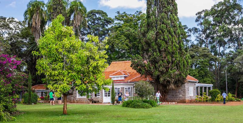 view of the Karen Blixen House Museum in Nairobi