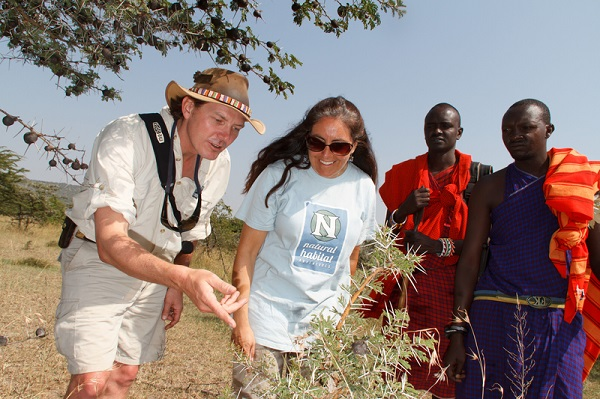 Expert naturalist guide in the Maasai Mara